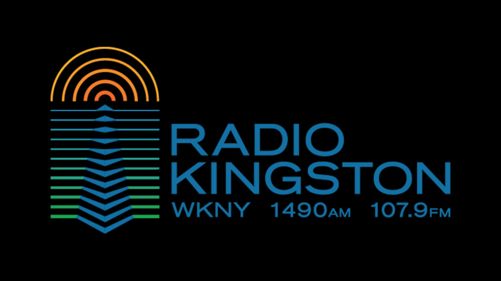 Radio Kingston logo showing text and a radio signal